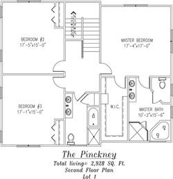 Pinckney Second Floor plan