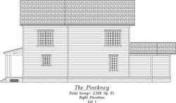 Pinckney Right Elevation