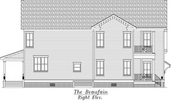 Beafain Right Elevation