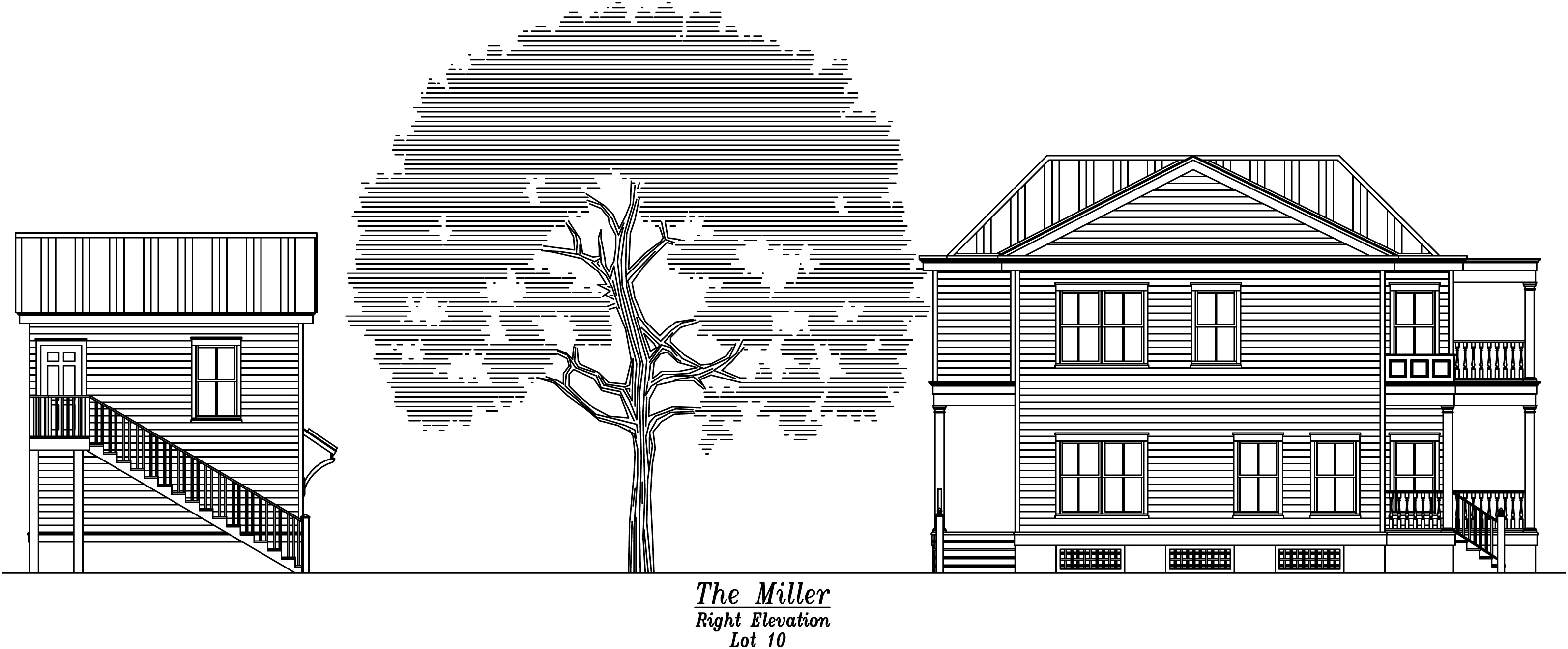 Miller Right Elevation Full