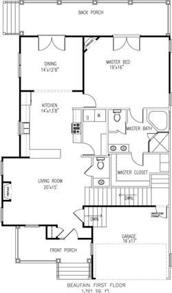 Beaufain First Floor