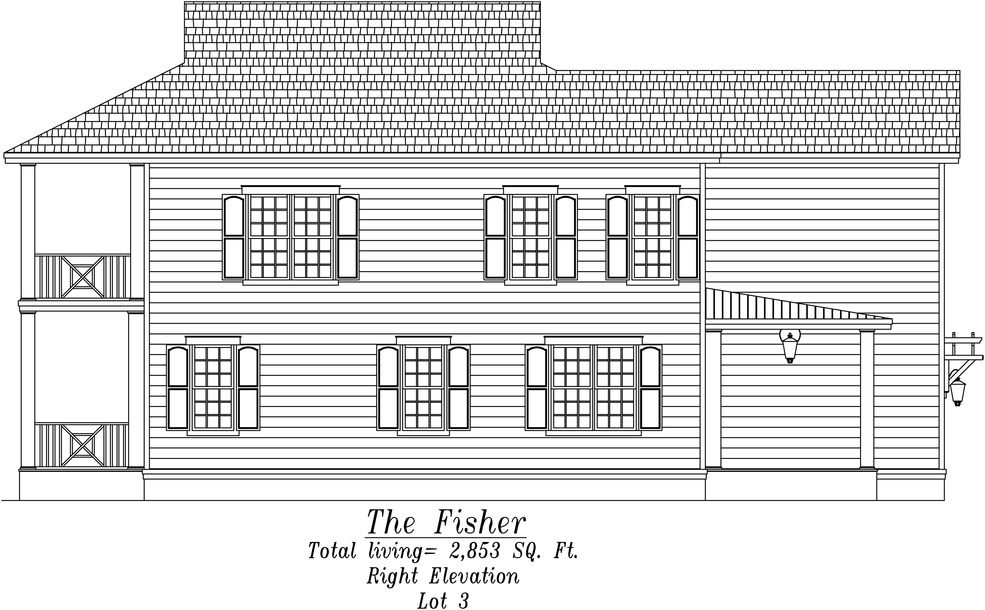 Fisher Right Elevation