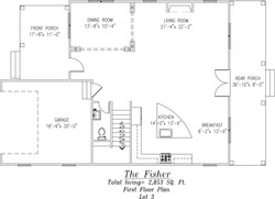 Fisher First Floor Plan