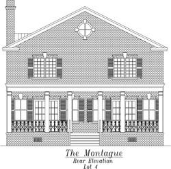 Montague Rear Elevation