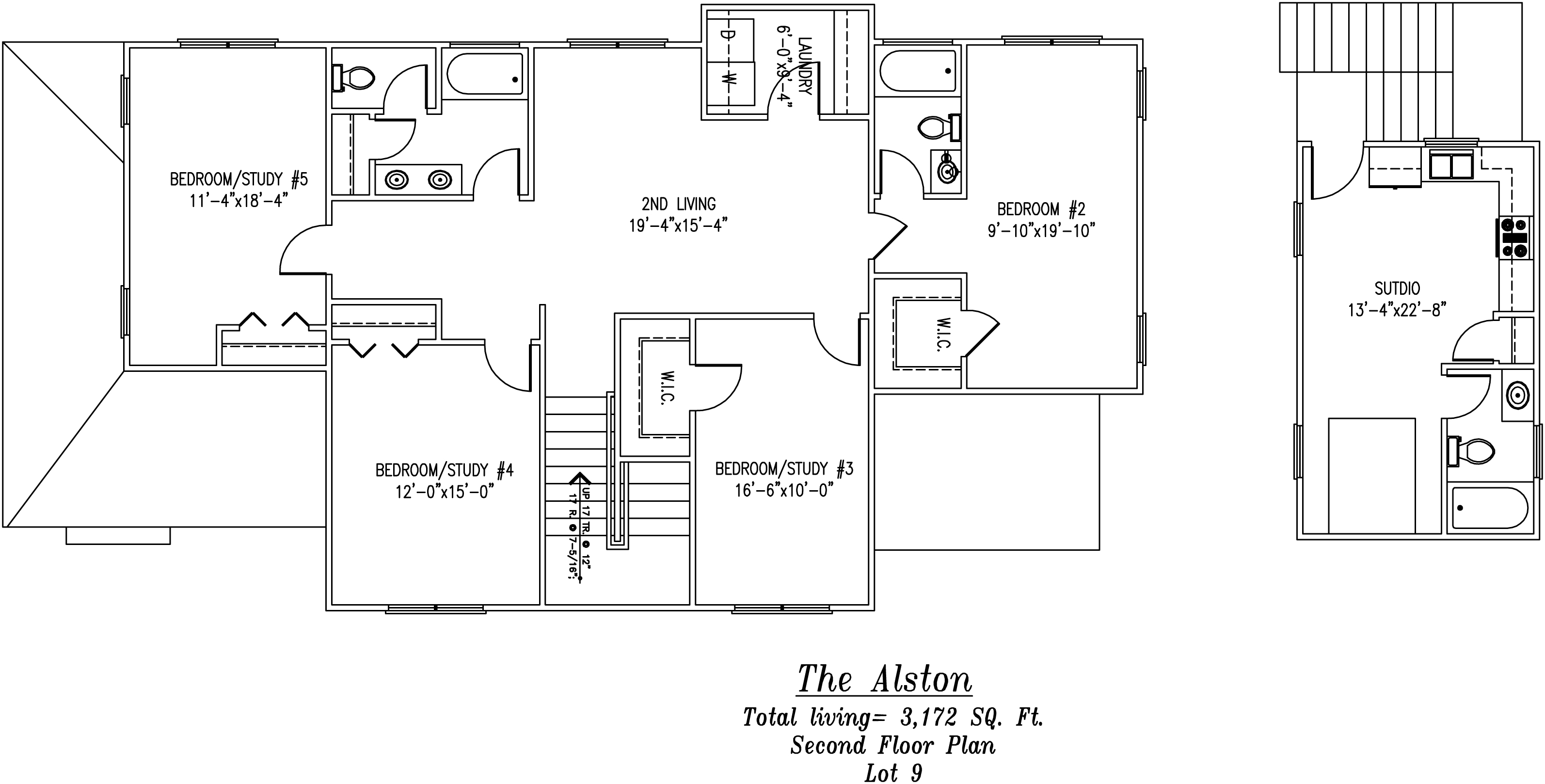 Alston Second Floor Plan