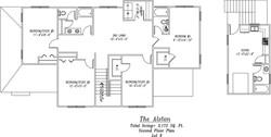 Alston Second Floor Plan