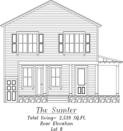 Sumter Rear Elevation