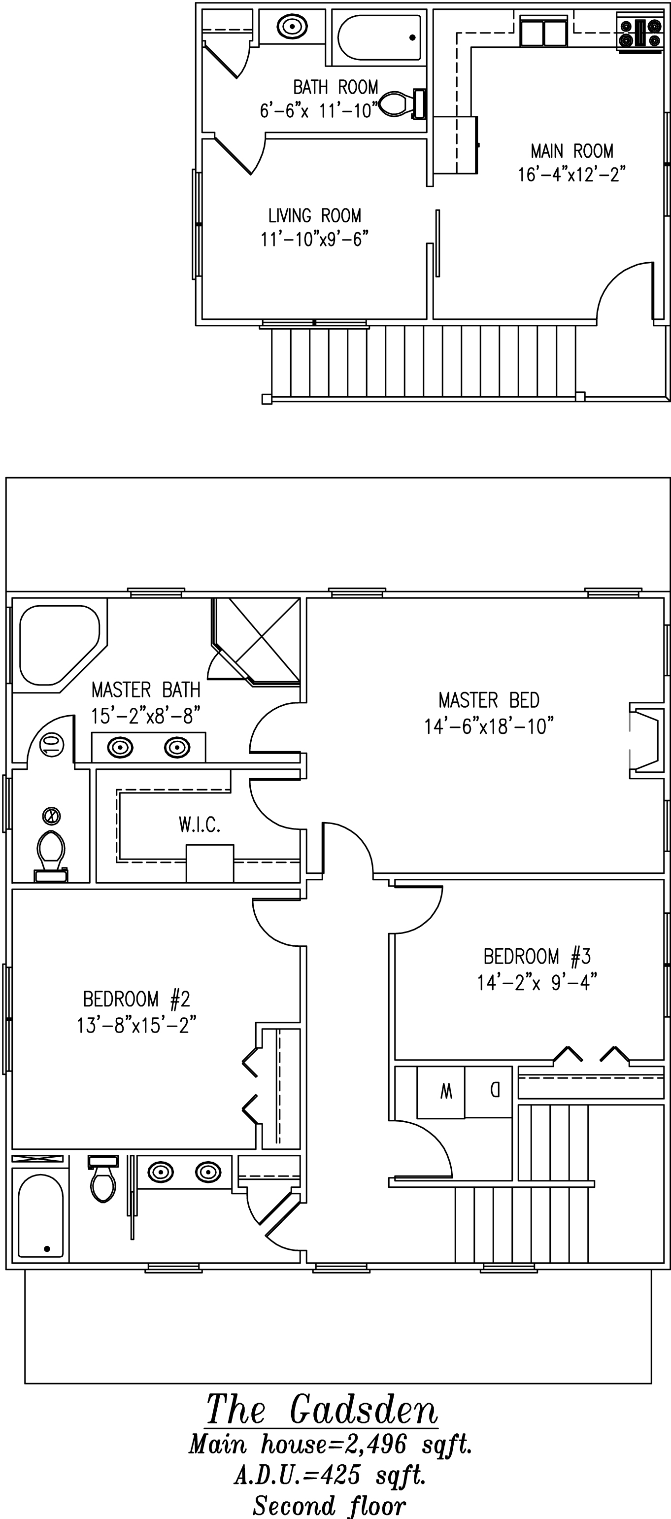 Gadsden Second Floor Plan
