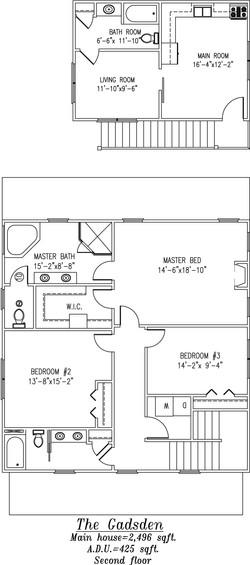 Gadsden Second Floor Plan