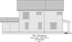 Pinckney Left Elevation
