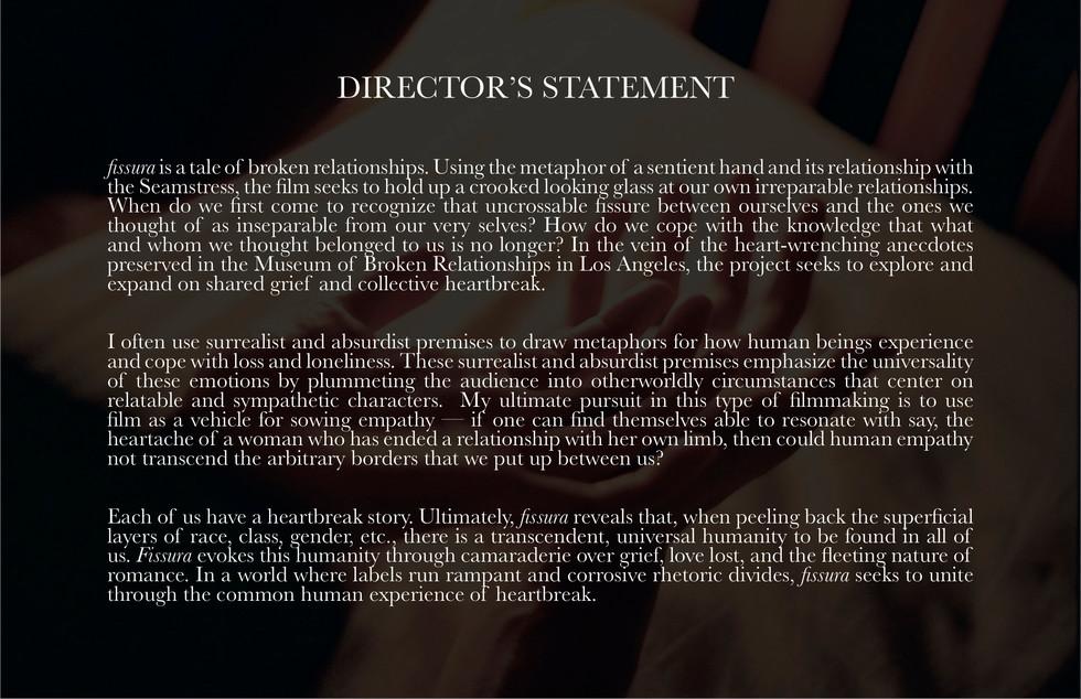 Director's Statement