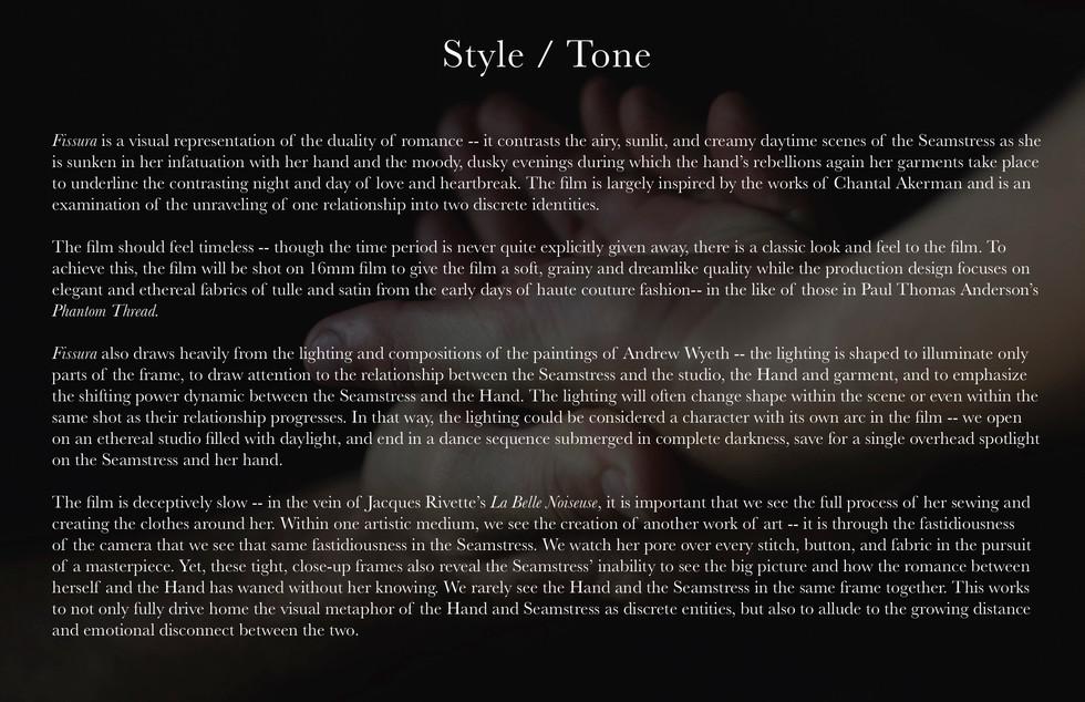 Style / Tone