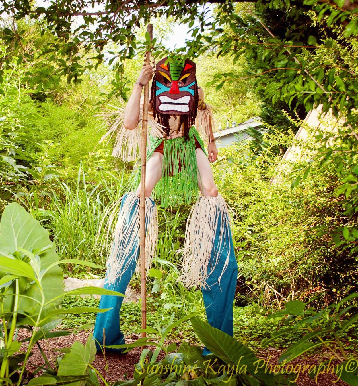 Tiki Stilt Character
