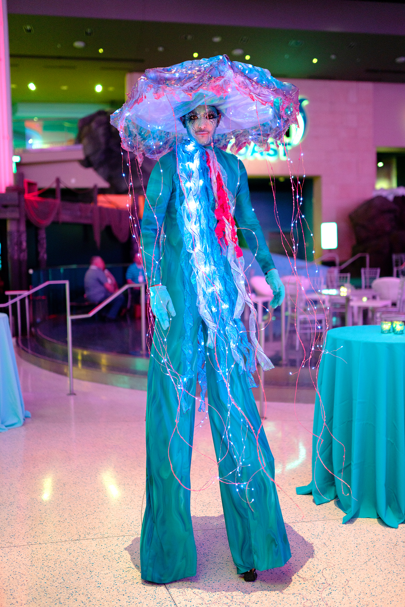 Jellyfish Stilt Walker