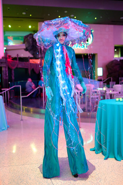 Jellyfish Stilt Walker