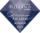 DIAMOND AWARDS 2018 Modern Luxury Weddings Magazine, award, weddingplanning, wedding planner, entertainment, interactive, creative, performer, entertainer, event planner, event planning, winner, atlanta,