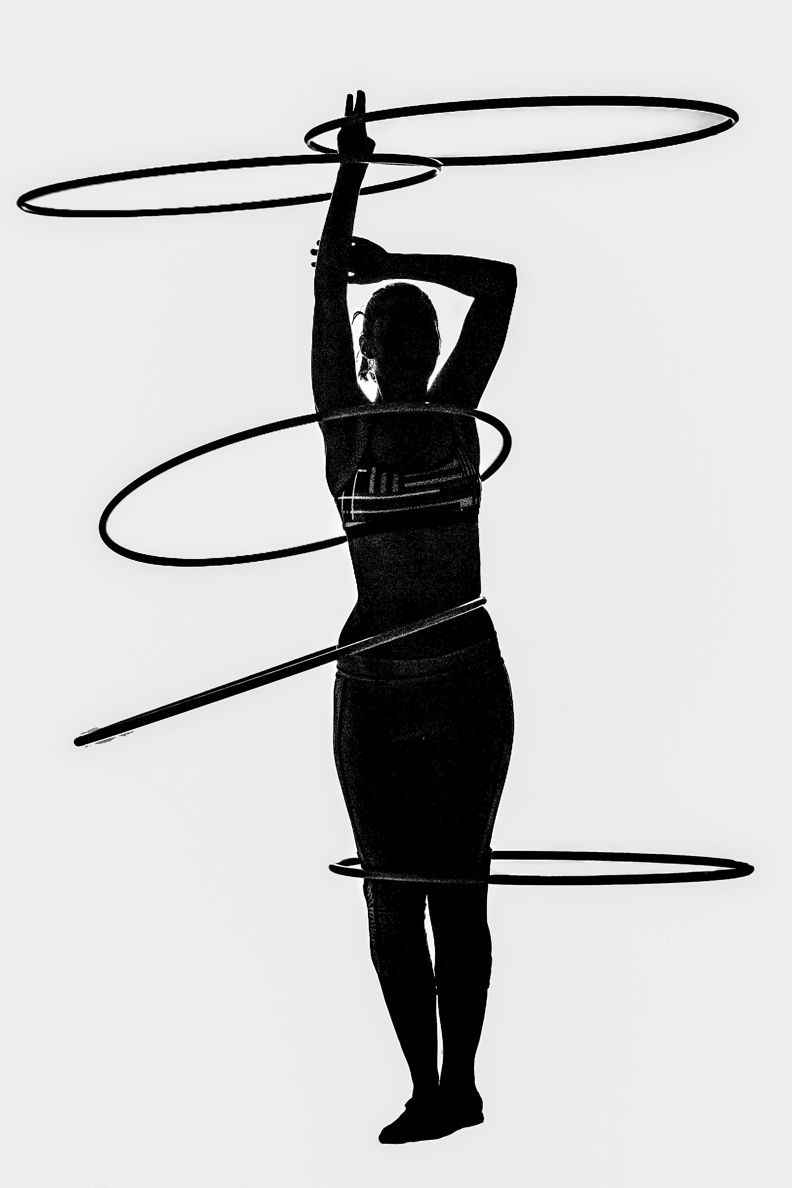 Hooping Silhouette