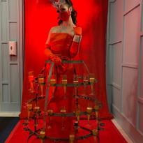 Living Red Carpet w Champagne Skirt