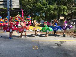 Atlanta Pride Parade 2018 w/ Lyft