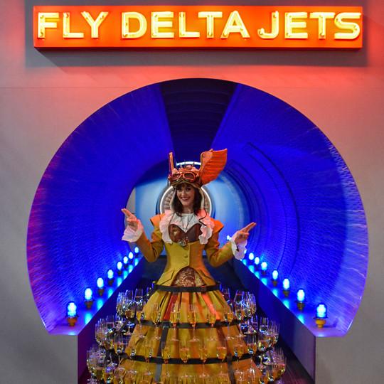 Aviation Presentation Skirt