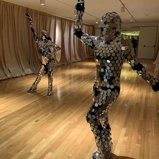 Mirrored Disco Dancers