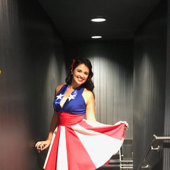 Patriotic Greeter