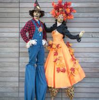 Scarecrow & Autum Stilt Walkers