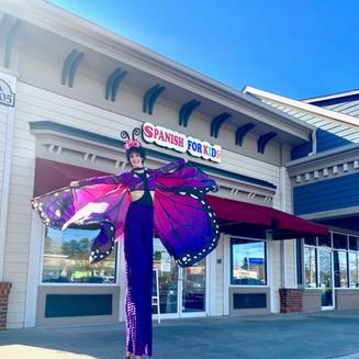Butterfly Stilt Walker