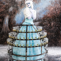 Ice Queen Champagne Presentation Skirt