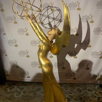 Living Emmy Statuette