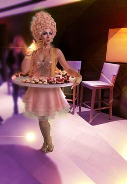 Table Tutu Sweetheart