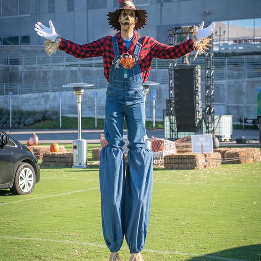 Scarecrow Stilt Walker
