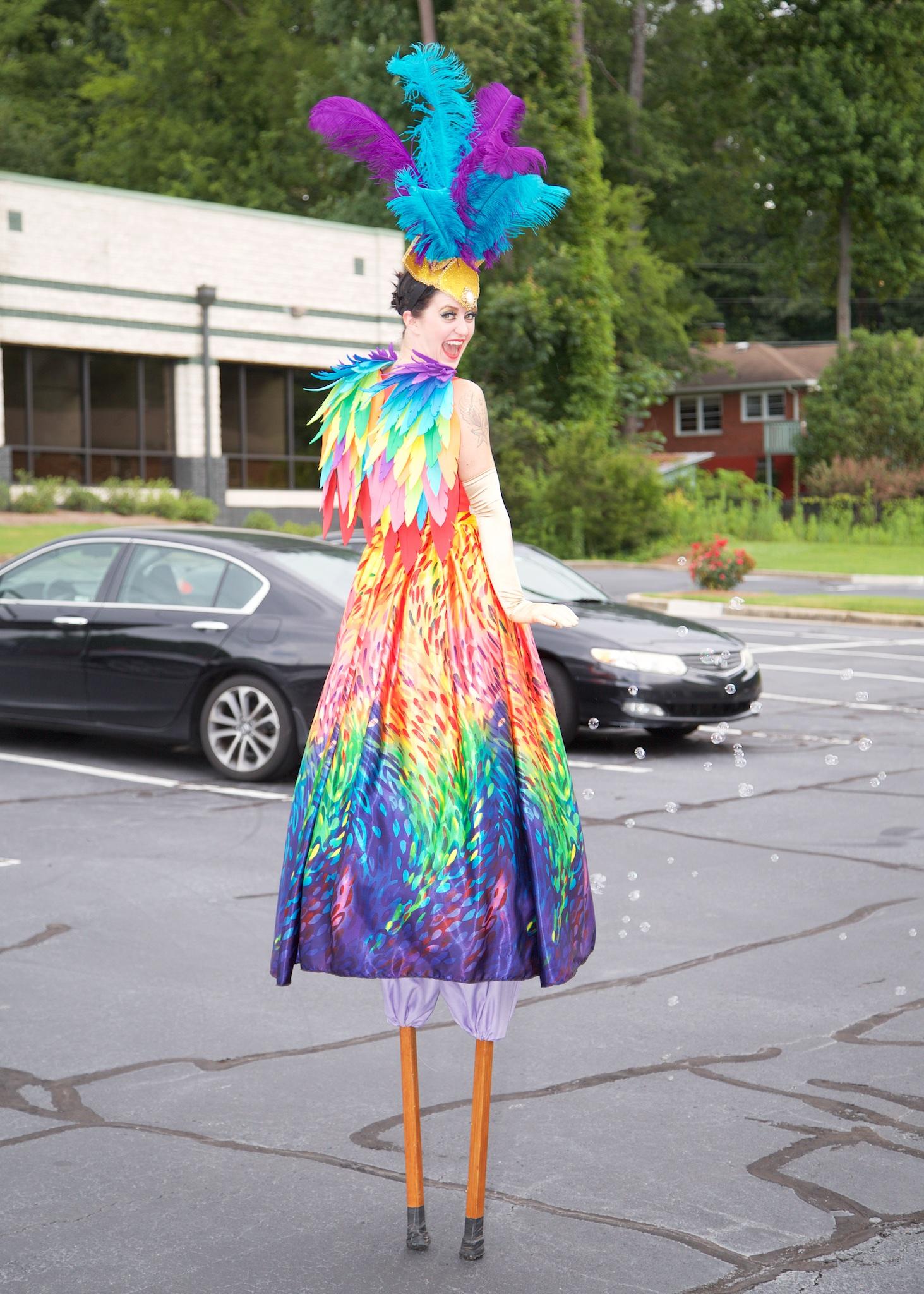 Rainbow Stilts