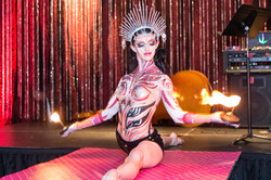 Palm Torches in Bodypaint
