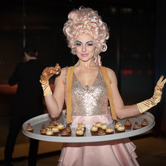 Cupcake Sweetheart Table Tutu