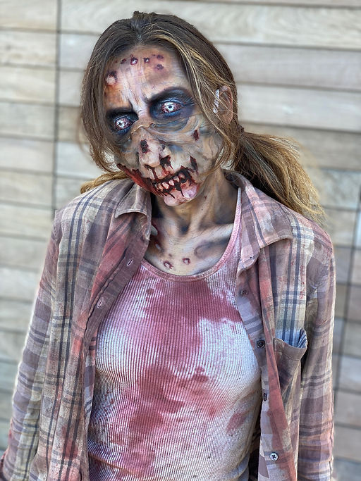fx makeup zombie covid mask