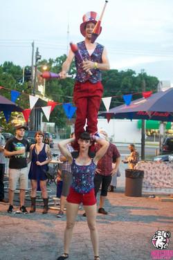 Acrobatic Juggling