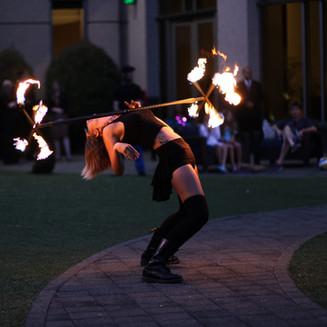 Dragon Staff, Fire Performer