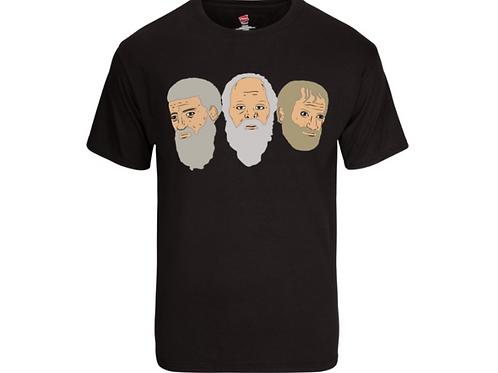 Stooges Face - Shirt Black