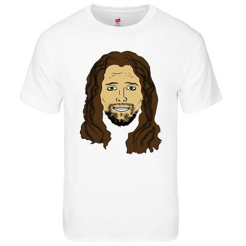 Jesus Face - Shirt White