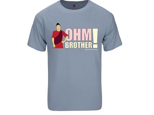 Buddha OHM - Shirt Gray