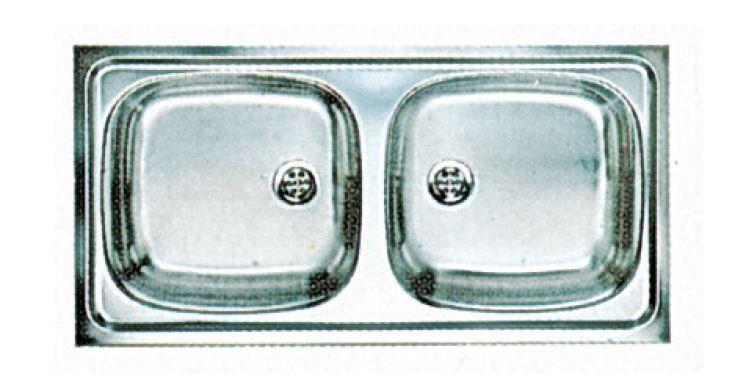 Blanco kétmedencés mosogató