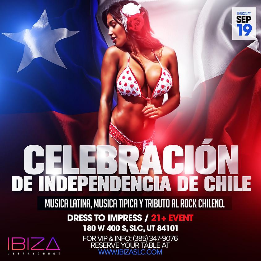 Celebración de independencia de Chile