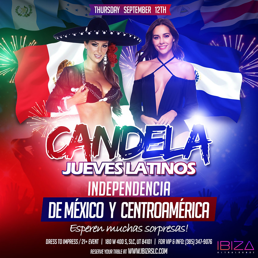 Celebración de independencia de Mexico y Centro America