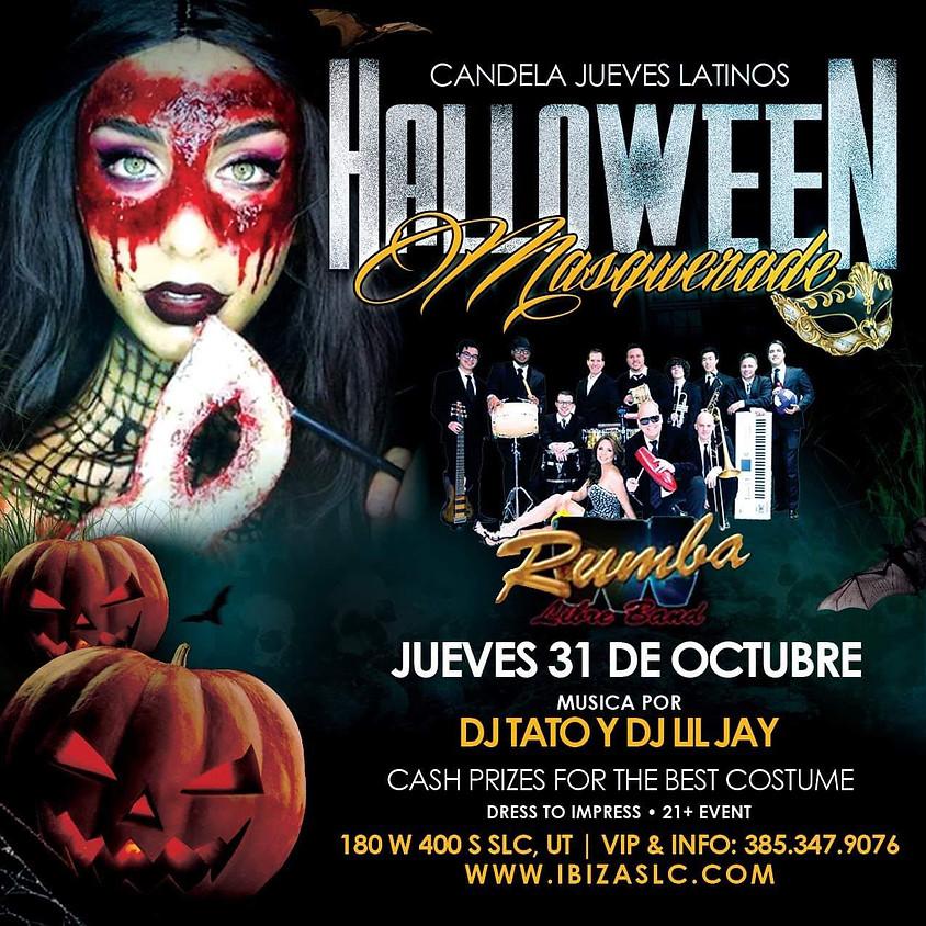 Candela Jueves Latinos - Mascarade Ball Featuring Rumba Libre