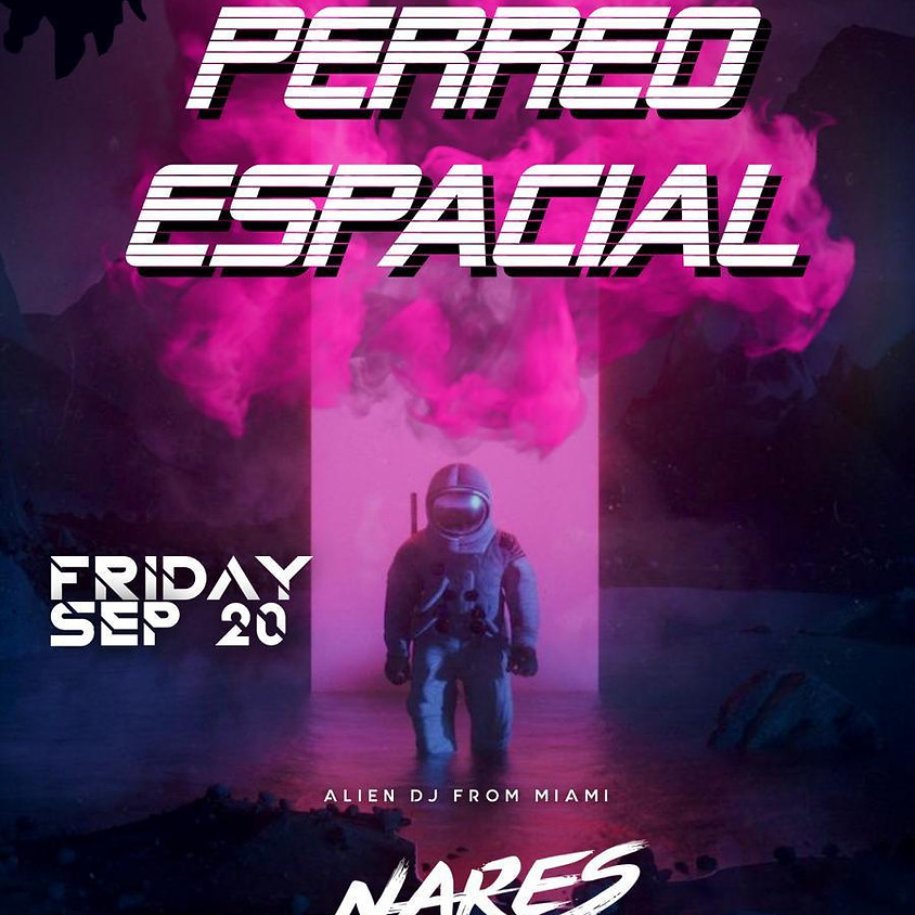 Perreo Espacial - @ibizaslc - Alien DJ from Miami NARES!