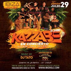 Kazzabe en Concierto 7-29-21