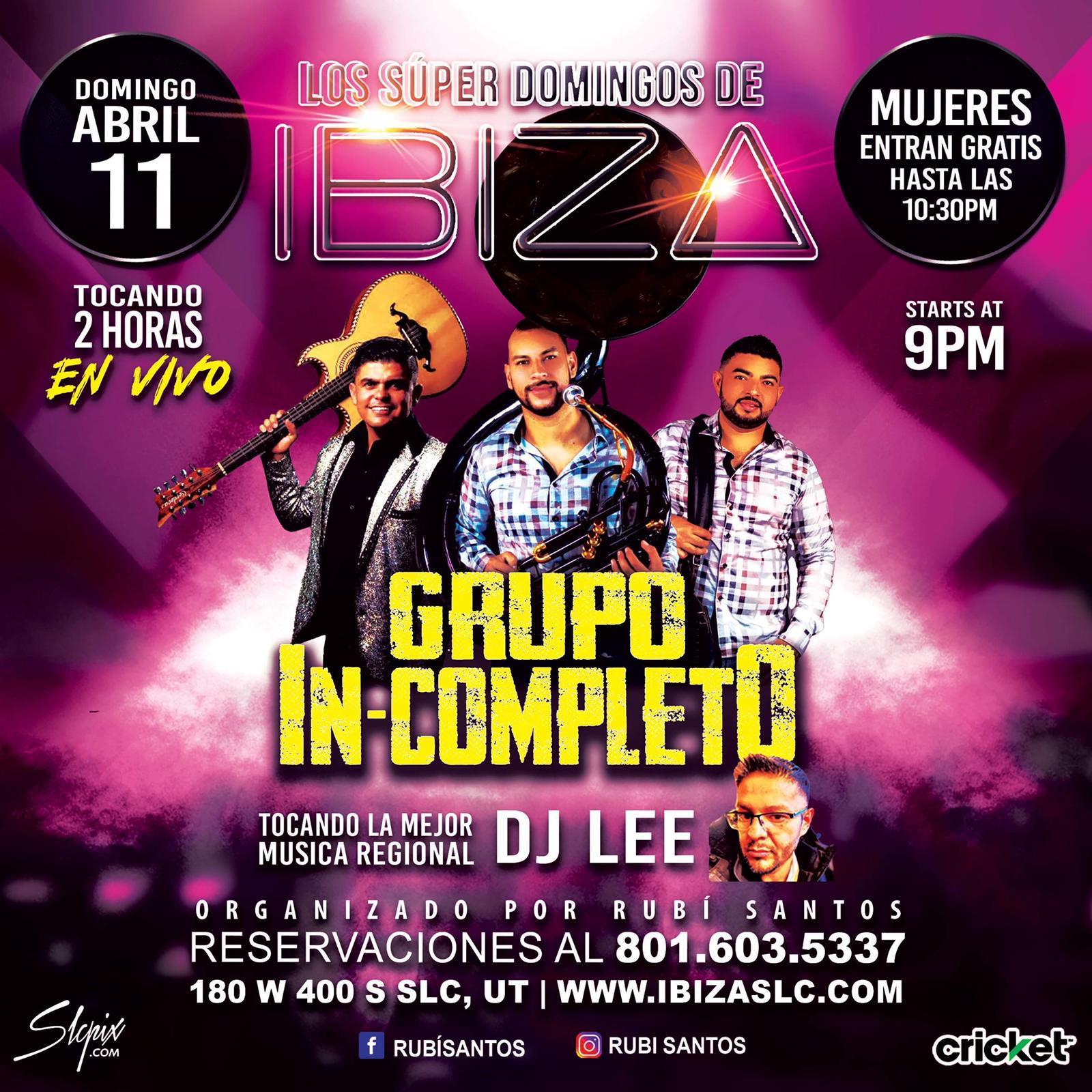 Super Domingos De Ibiza - Grupo In-Compl