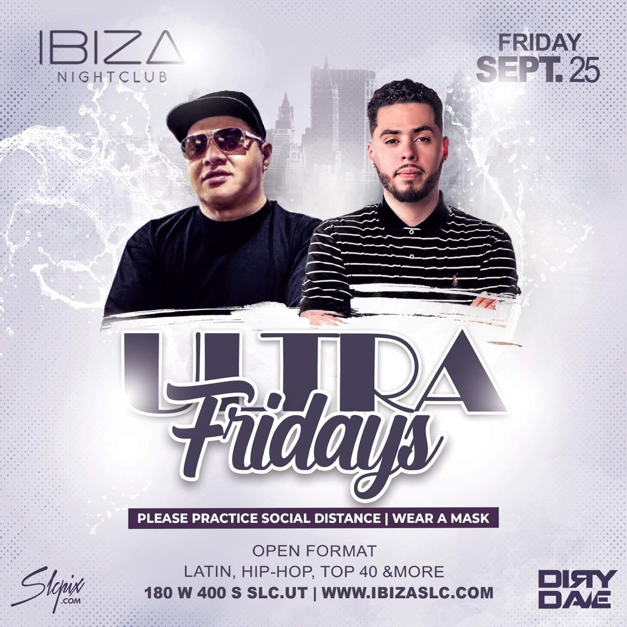 Ultra Fridays - Dirty Dave and Handsome