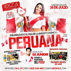 Celebrando Independencia de Peru 7-28-21